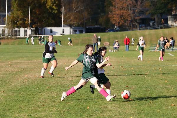 McCann Tech girls soccer vs. Saint Mary's - 102319