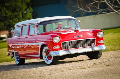 1955 LSx Powered Chevrolet Townsman Wagon