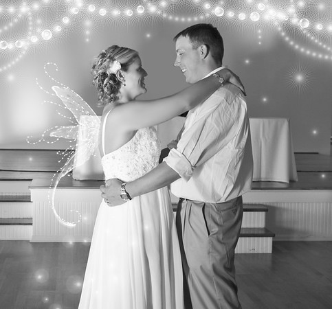 First Dance Bride and Groom Dancing Photography
