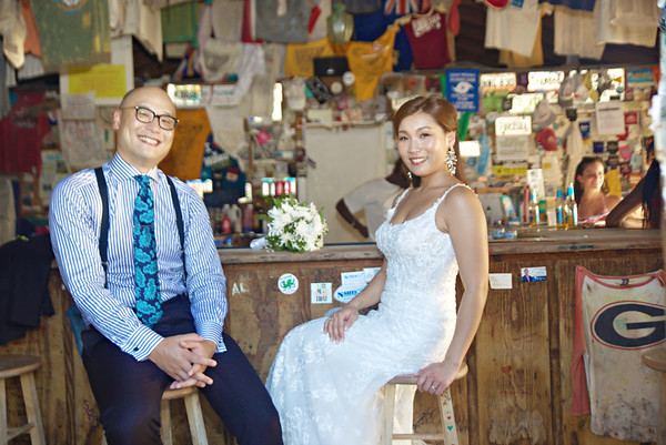 Otomo & Kim | Destination Wedding | Chat 'n' Chill | Exuma, Bahamas