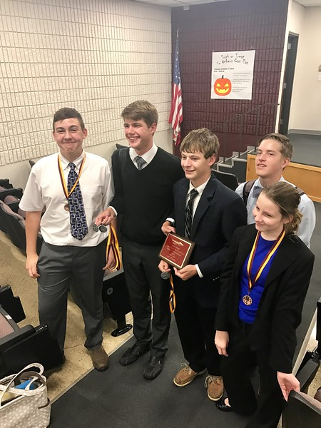 TMP-M First place sweeps