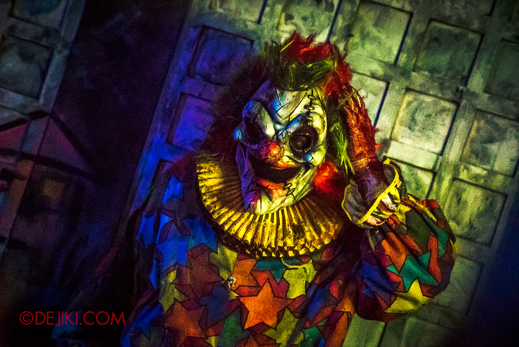 Halloween Horror Nights 6 Final Weekend - Bodies of Work revisited / Killer Clown