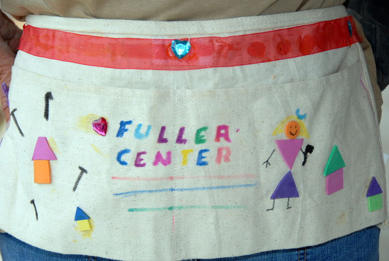 Nail aprons made by Girl Scouts of Lanett, AL. mlj