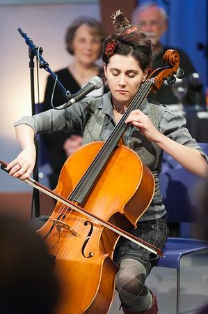 Nov 21, 2010 Oregon Art Beat Taping of Portland Cello Project