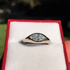 1.10ct Vintage Marquise Cut Diamond Ring 9