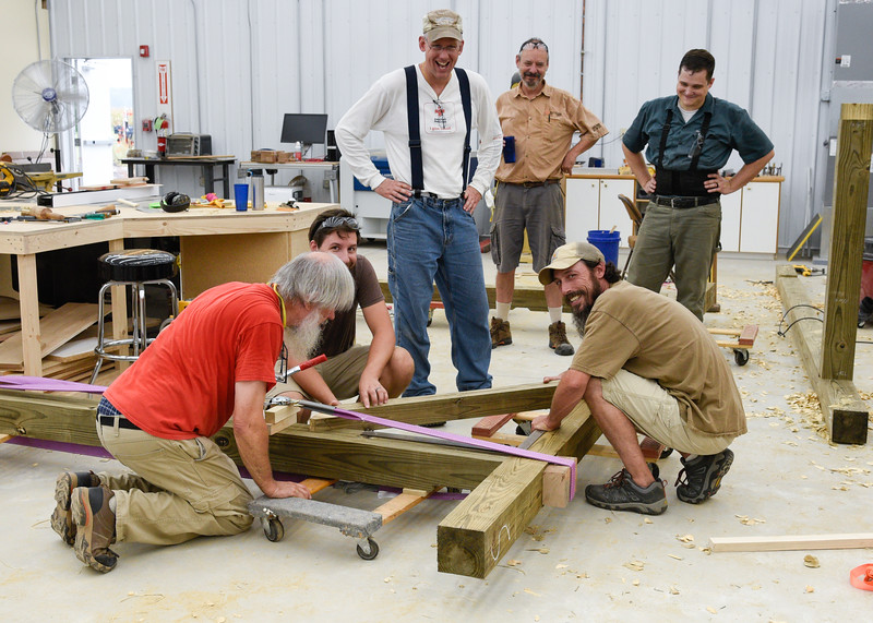 Timber Framing:  Building a Pavilion with Mark Hedin