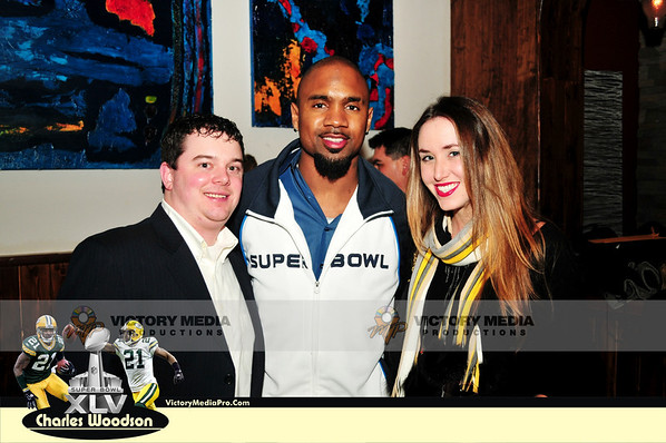 Charles Woodson Super Bowl Pre-Party