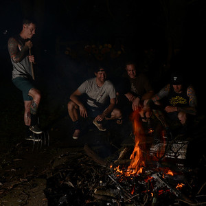 Whiffle Ball and Bonfire at Brett and Kimberly's July 2013