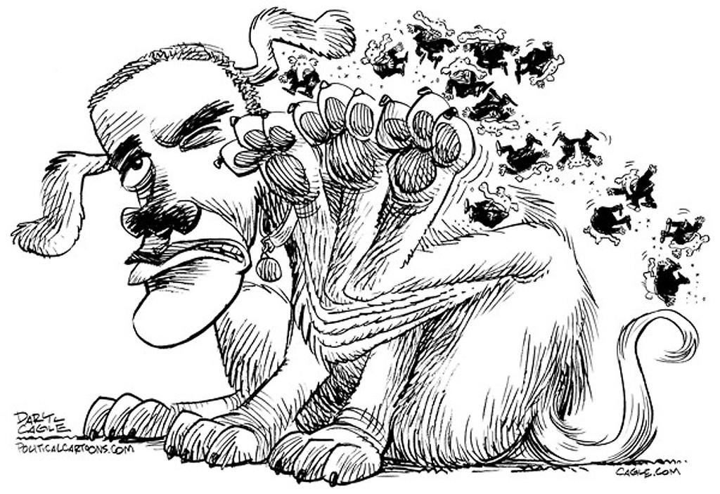 . Daryl Cagle / Politicalcartoons.com