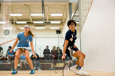 2014-11-15 Paige Dahlman (Tufts) and Samantha Rosado (Mount Holyoke)