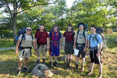 Backpacking Harriman State Park May 2018