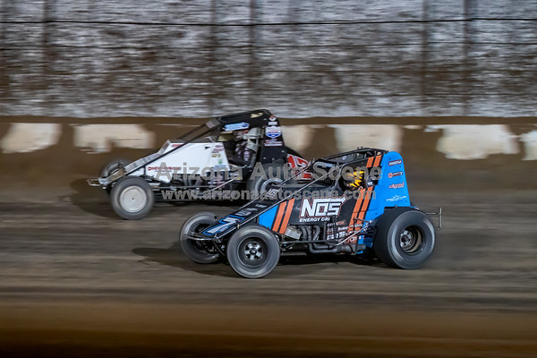 The 2018 USAC Western World Sprint Car Championships from Arizona Speedway