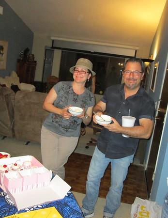 Jill's Birthday Party April 2015