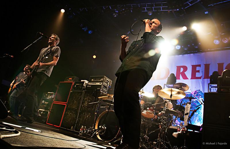Bad Religion Opening for Rise Against Fillmore Auditorium, Denver, CO  April 16, 2011