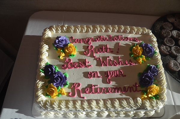 Ruth's Retirement Party - February 4, 2015