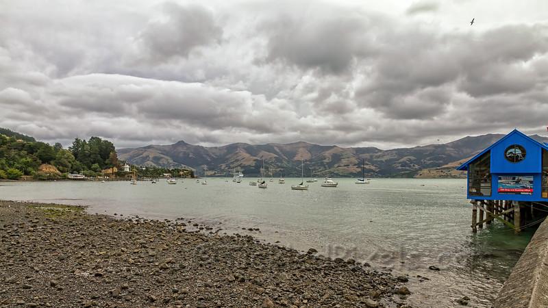 Akaroa Harbour and Wharf