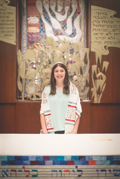Madeline Berger Bat Mitzvah - Ceremony