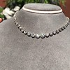 9.20ctw Victorian Riviere Diamond Necklace 29