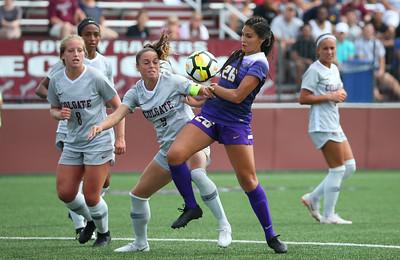 NCAA W Soccer: Albany at Colgate(1st Half); 8/26/18