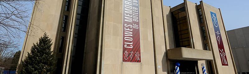 Clowes Memorial Hall Exhibit