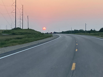 Sunset July 22, 2021