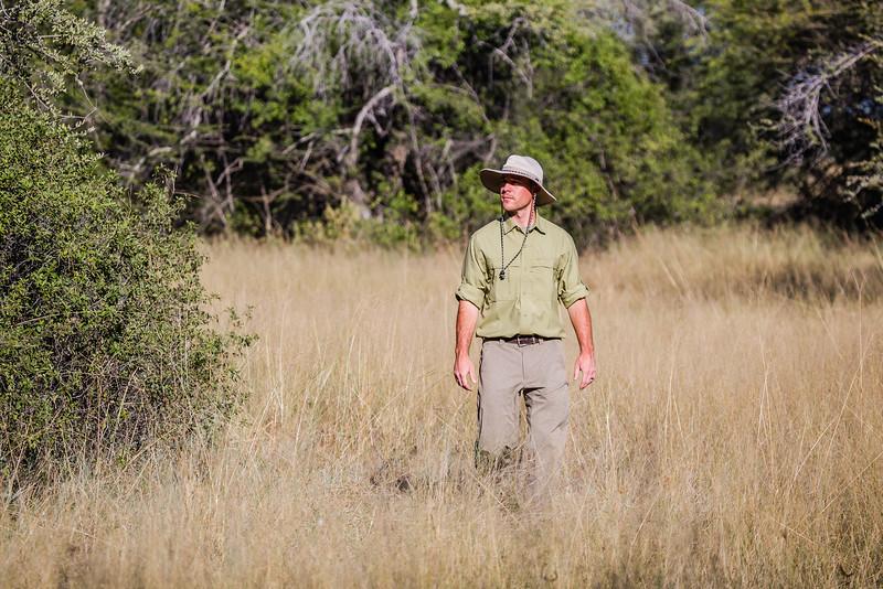 David Stock on safari in Africa