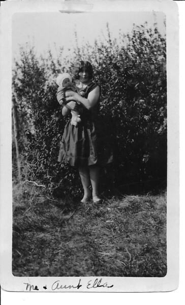 Aunt Ella and Dolores Olson