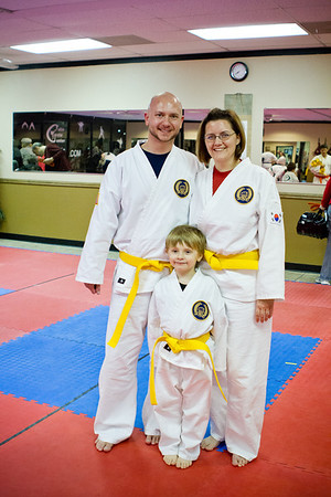Karate Graduation - January 11, 2012