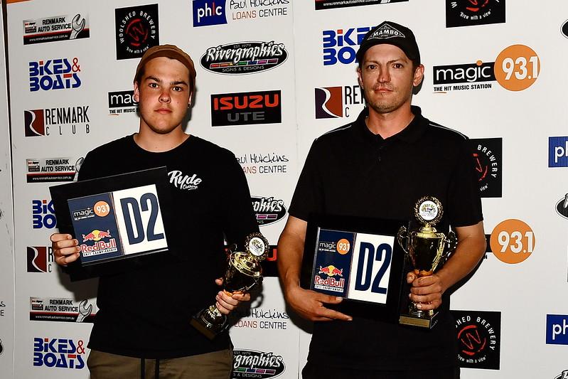 300cc Modified 2nd Place Matt Schwartzkopff/ AyJay Brown