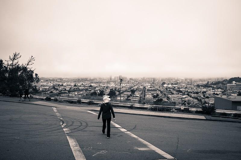 Crossing the Street, Bernal Heights