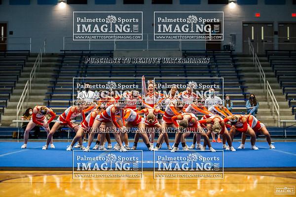 Mauldin Varsity Cheer 5A Qualifier