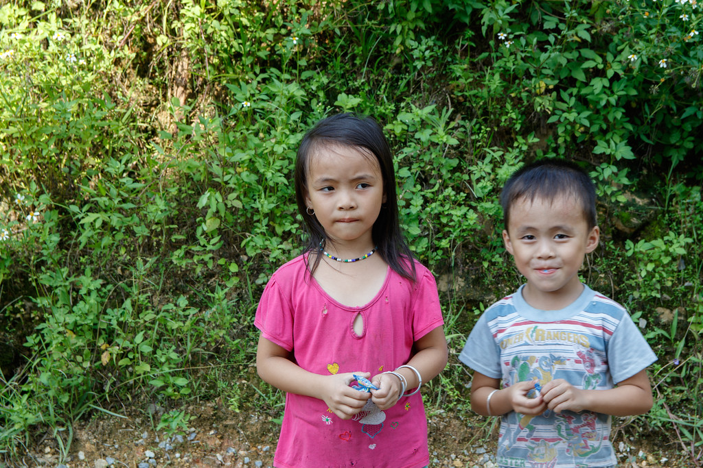 Village Kids in Vietnam