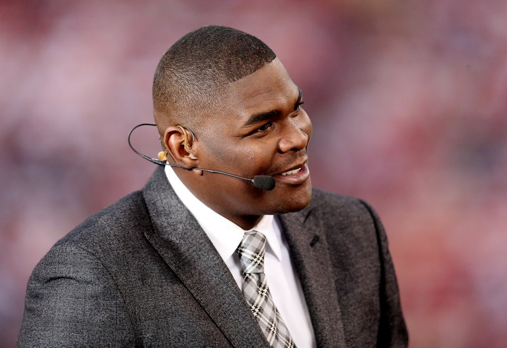 ". <p>10. (tie) KEYSHAWN JOHNSON <p>Just give me the damn cell phone ... then bail ... then a really good lawyer. (previous ranking: unranked) <p><b><a href=\'http://nfl.si.com/2014/04/21/keyshawn-johnson-arrested-for-domestic-violence/\' target=""_blank\""> LINK</a></b> <p>    (Stephen Dunn/Getty Images)"
