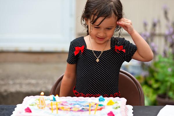 Diah's 4th Birthday