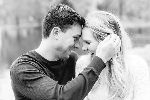 Samantha and Jordan's Engagement at Long's Park in Lancaster