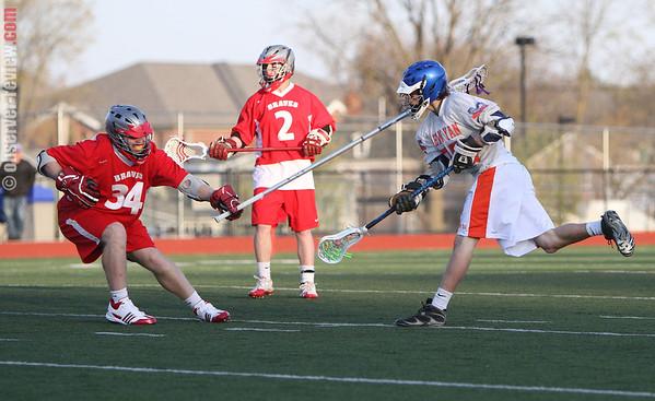 Penn Yan Lacrosse 4-13-12