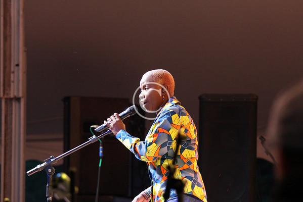 Photos, Pictures of Angellique Kidjo at the Lake Eden Arts Festival