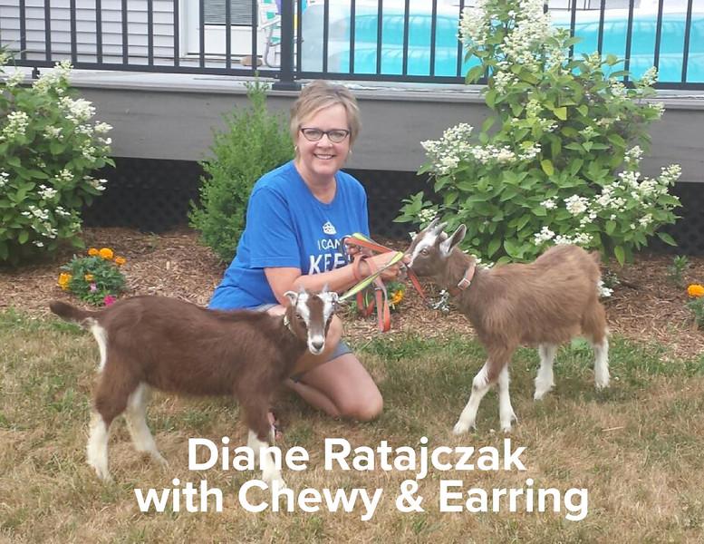 Diane Ratajczak with Earring & Chewy.jpg