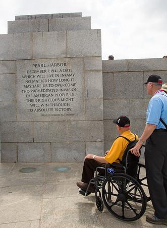 D-Day 71st Anniversary Commemoration - Washington D.C. (6-6-15)