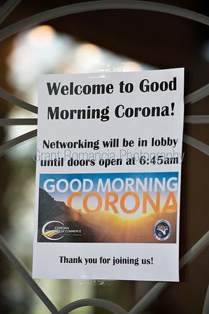 Good Morning Corona June 2018