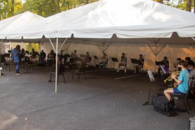 27 September Outdoor Rehearsal