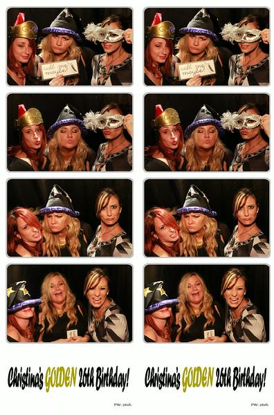 Christina's Golden 26th Birthday August 30, 2014