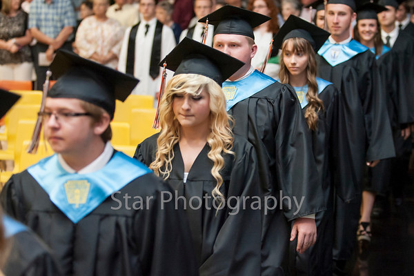 Elizabethton High School Graduation 05-18-13