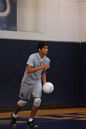 OE Varsity boys volleyball
