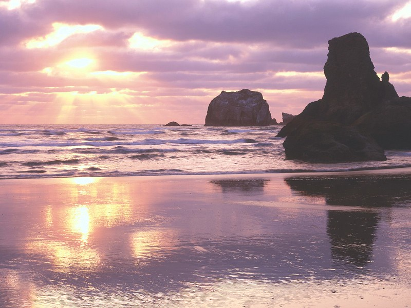 Sunset Light, Bandon, Oregon.jpg