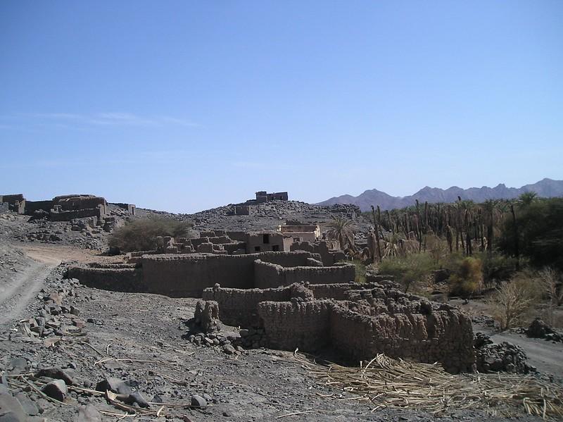 Remains of Jewish fortresses at Khaybar Kingdom of Saudi Arabia