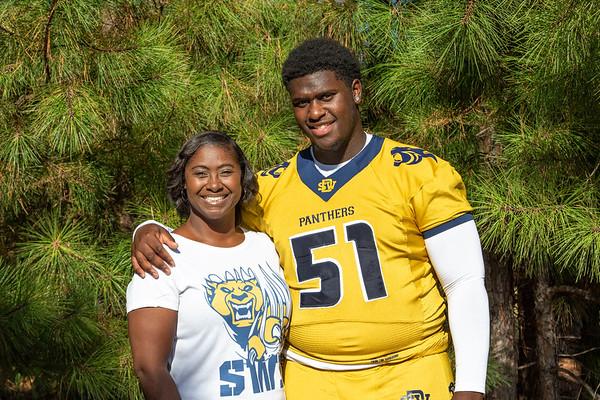 SW Dekalb Varsity Football Portraits