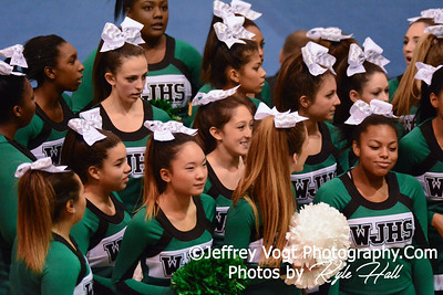 11-15-2014 Walter Johnson HS Varsity Cheerleading at Blair HS MCPS Championship, Photos by Jeffrey Vogt Photography with Kyle Hall