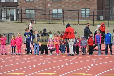 100 Meter Kids' Race - 2015 OU vs UDM T&F Dual Meet