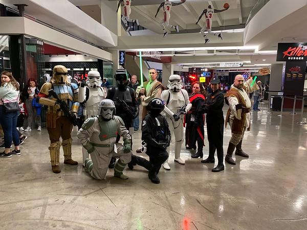 Star Wars Night with the Trailblazers - NE Portland